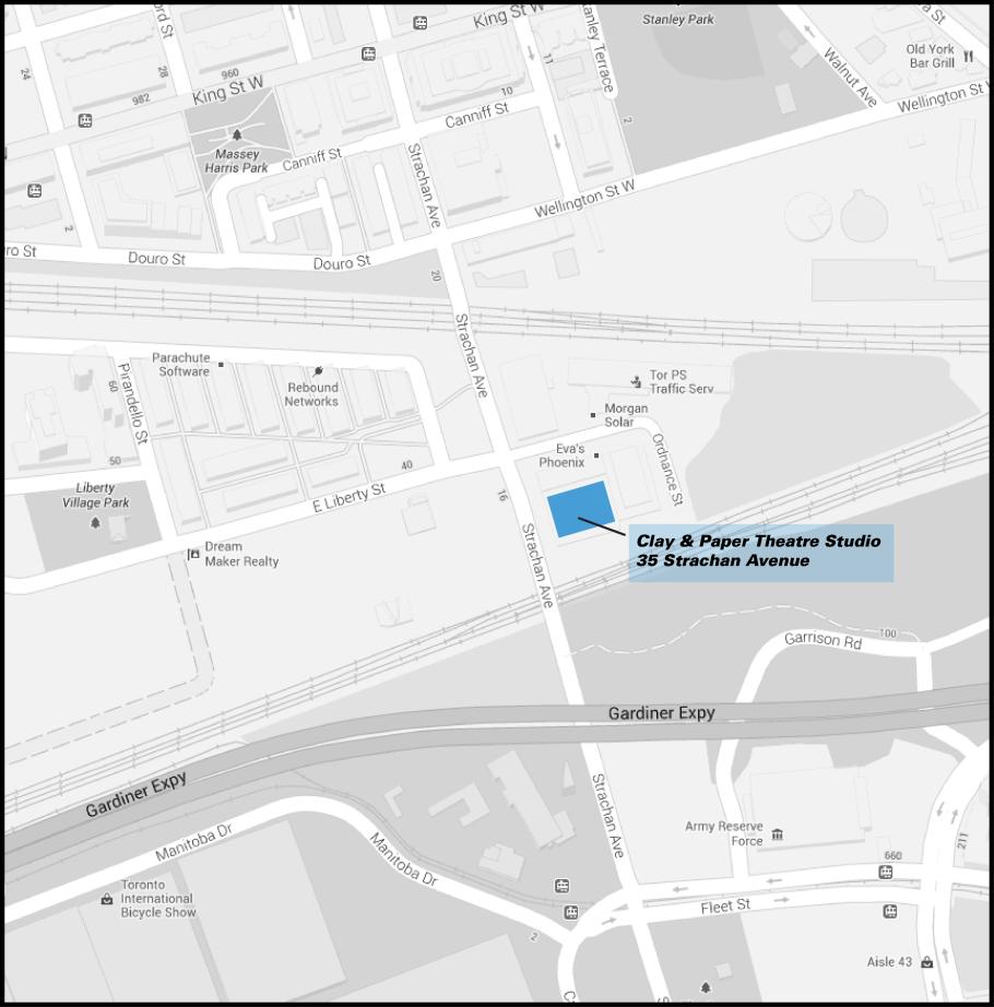 C&P website map