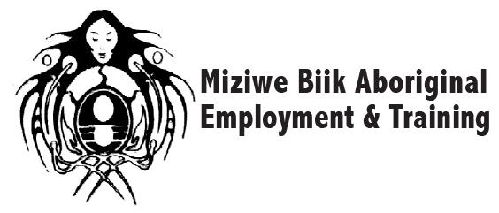 Miziwe Biik Aboriginal Employment and Training Logo